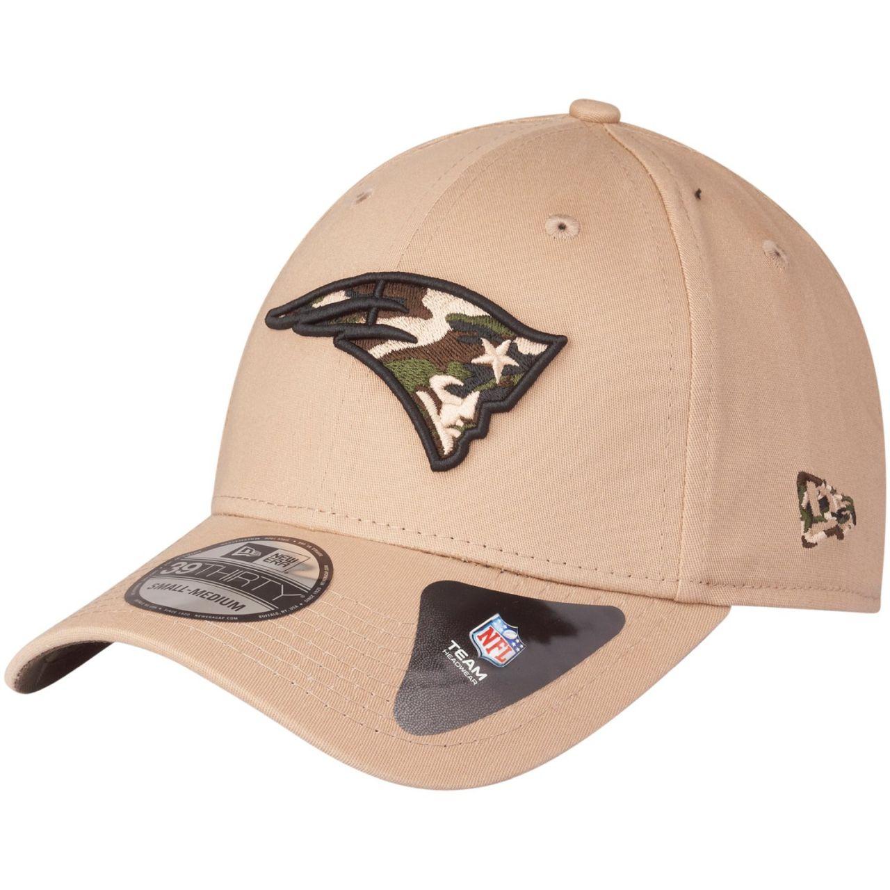 amfoo - New Era 39Thirty Stretch Cap - CAMO New England Patriots