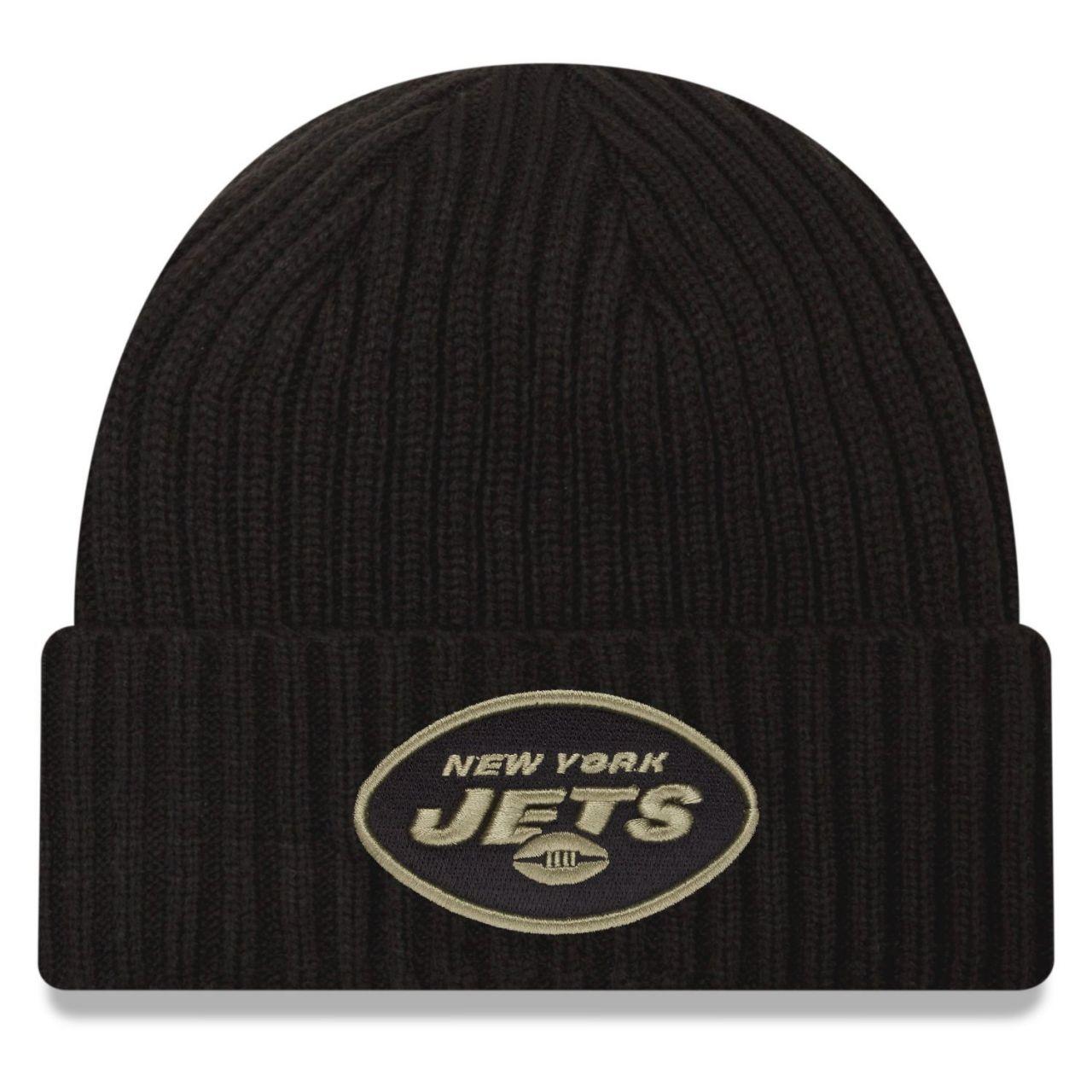 amfoo - New Era Salute to Service Wintermütze - New York Jets