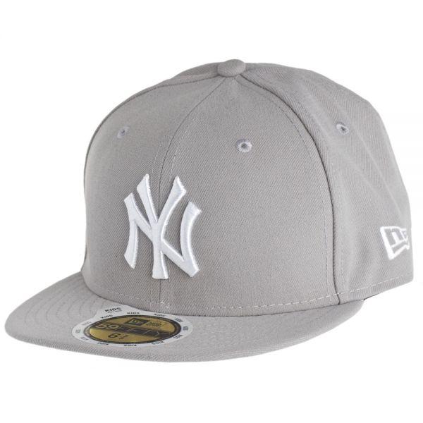 New Era 59Fifty Fitted KIDS Cap - NY Yankees grau
