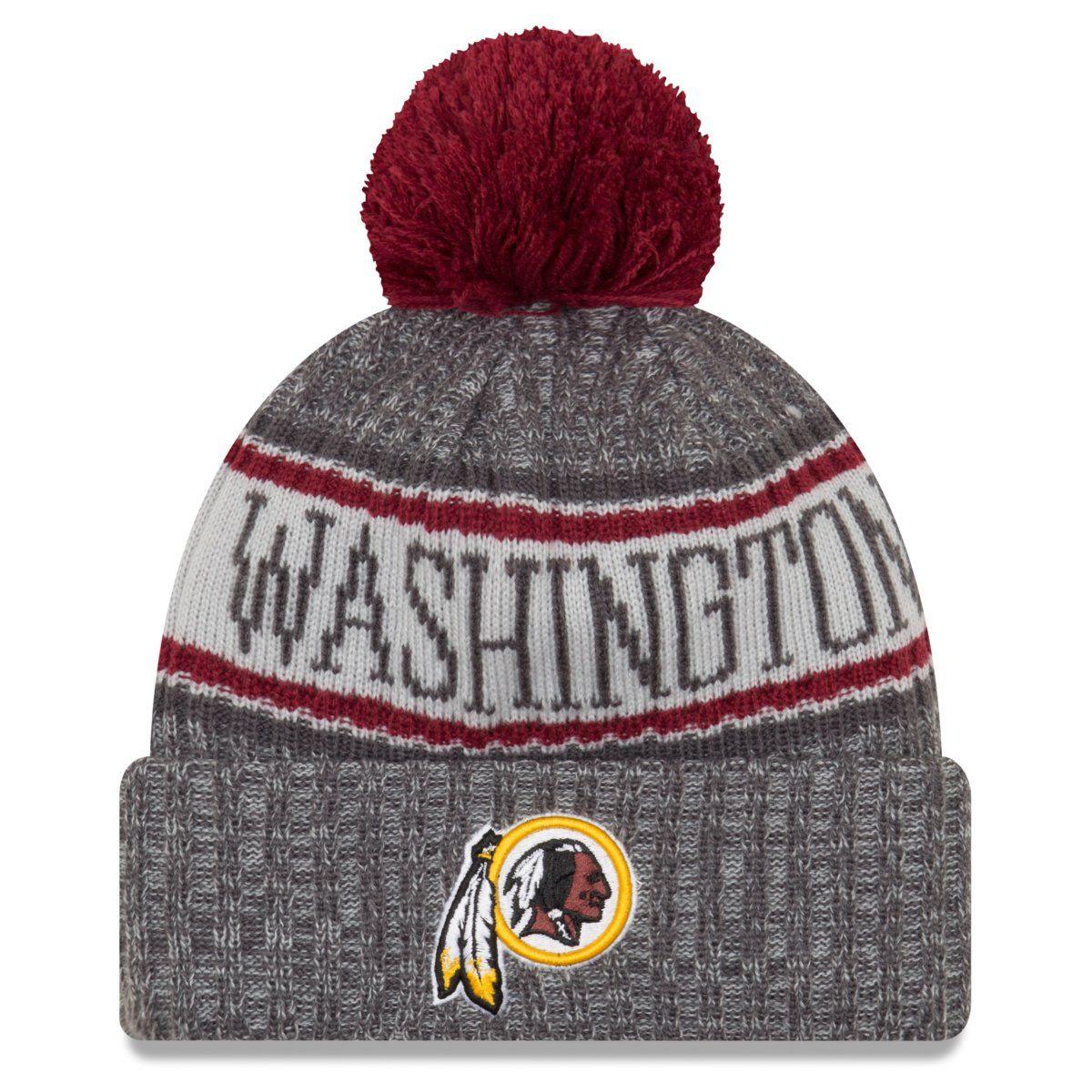 amfoo - New Era NFL Sideline Graphite Mütze - Washington Redskins