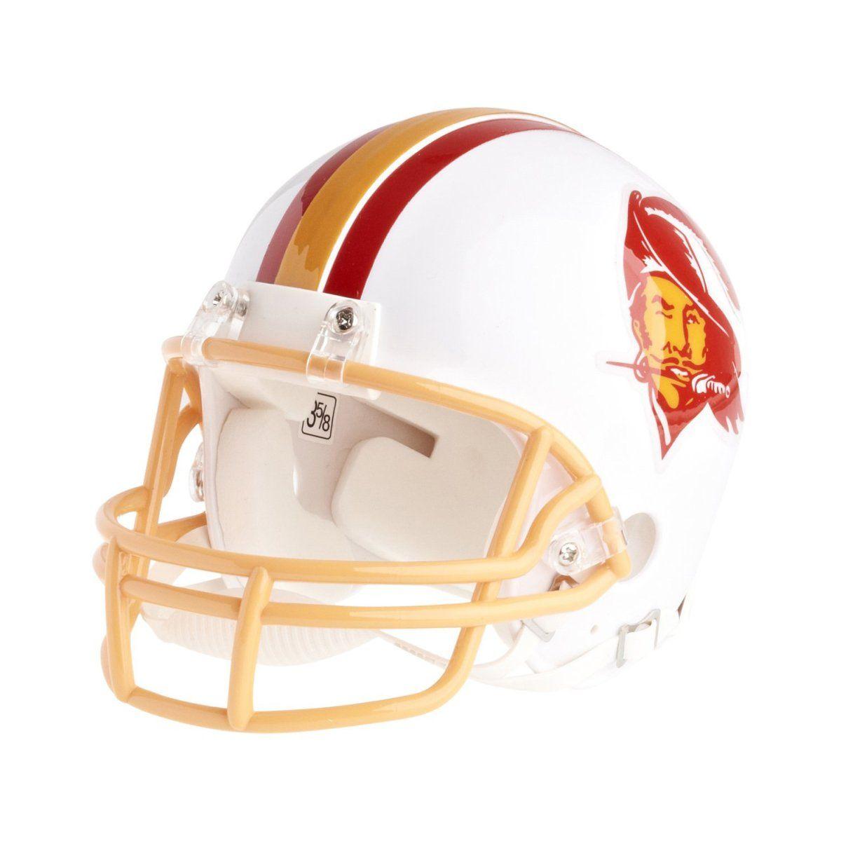 amfoo - Riddell VSR4 Mini Football Helm - Tampa Bay Buccaneers 76-96