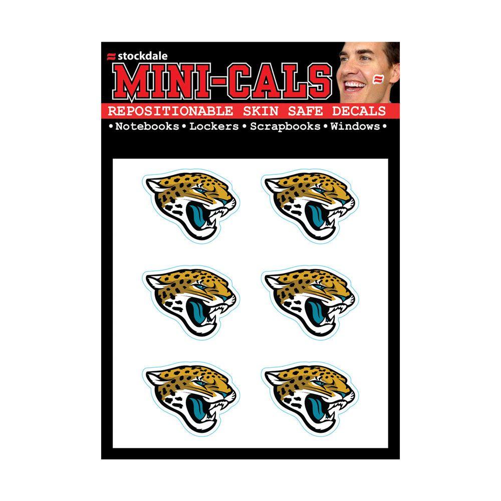 amfoo - Wincraft 6er Gesicht Aufkleber 3cm - Jacksonville Jaguars