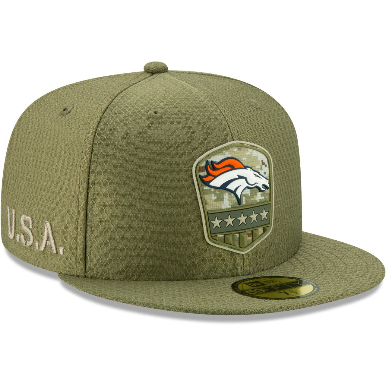 amfoo - New Era 59Fifty Cap - Salute to Service NFL Denver Broncos