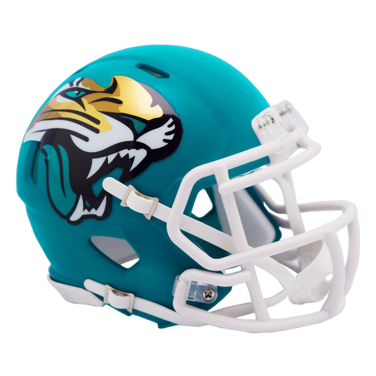 amfoo - Riddell Speed Mini Football Helm - AMP Jacksonville Jaguars