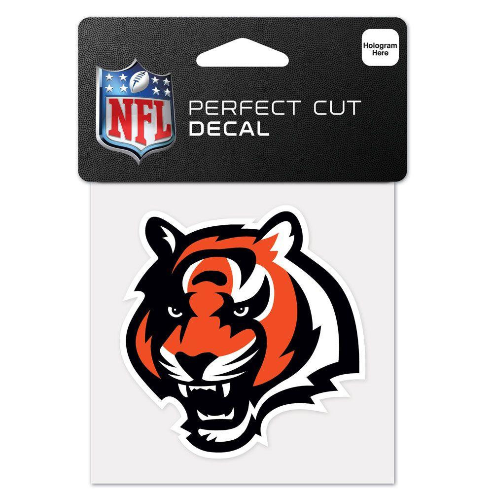 amfoo - Wincraft Aufkleber 10x10cm - NFL Cincinnati Bengals
