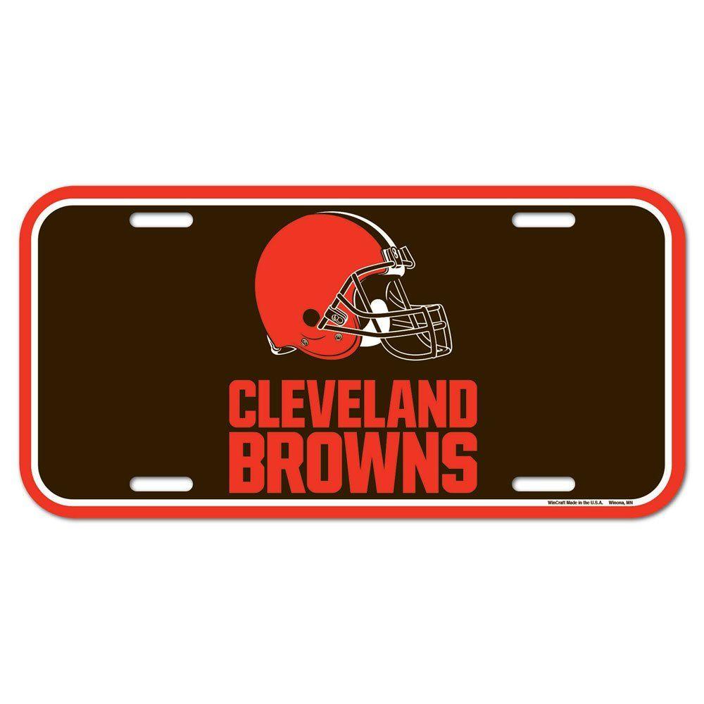amfoo - Wincraft NFL Kennzeichenschild - Cleveland Browns