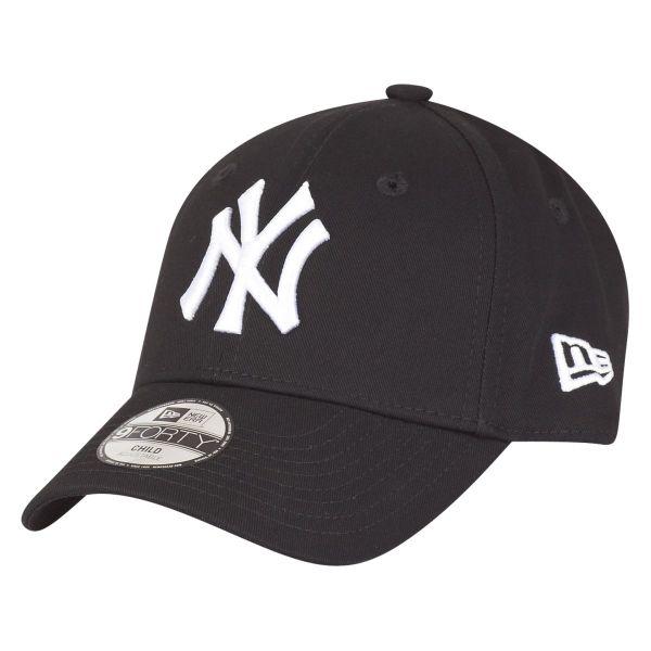 New Era 9Forty Stretched KIDS Cap - NY Yankees schwarz