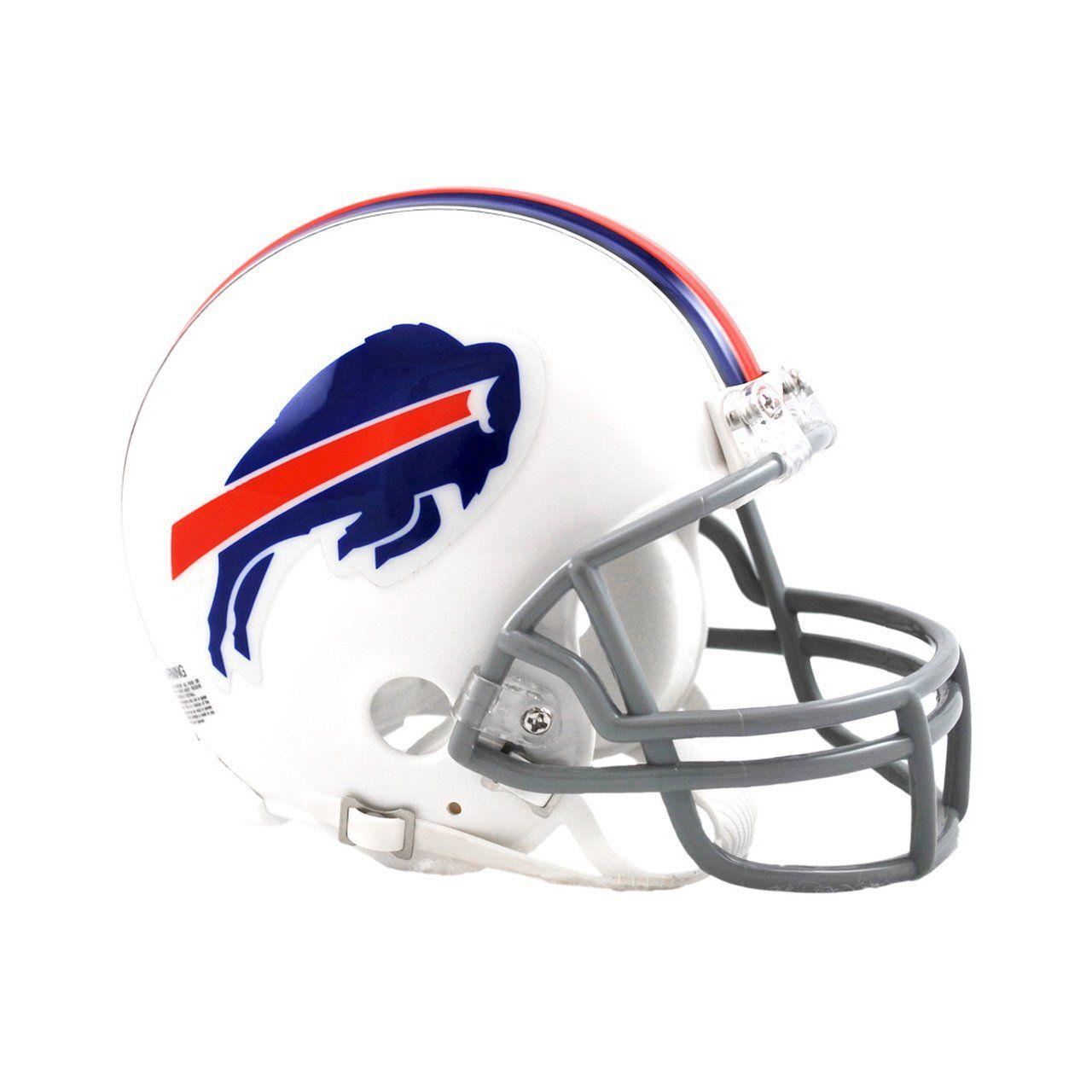 amfoo - Riddell VSR4 Mini Football Helm - NFL Buffalo Bills
