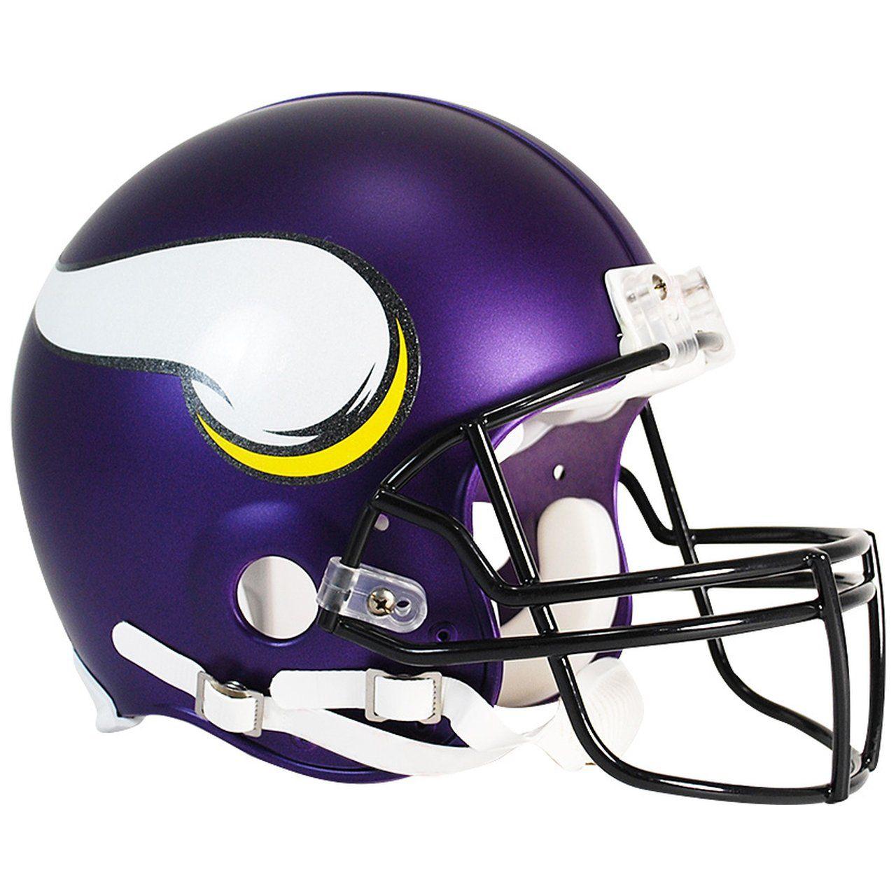 amfoo - Riddell VSR4 Authentic Football Helm - NFL Minnesota Vikings