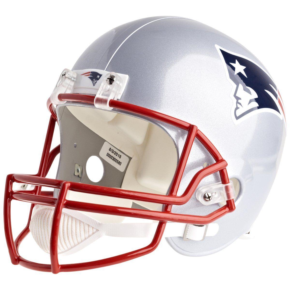 amfoo - Riddell VSR4 Replica Football Helm - New England Patriots