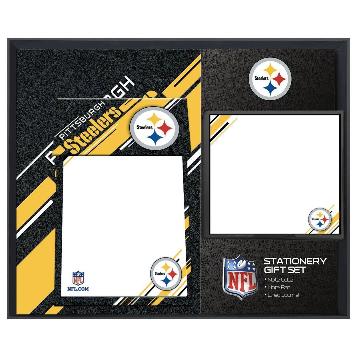 amfoo - Turner NFL Pittsburgh Steelers Schreibtisch Notiz Set