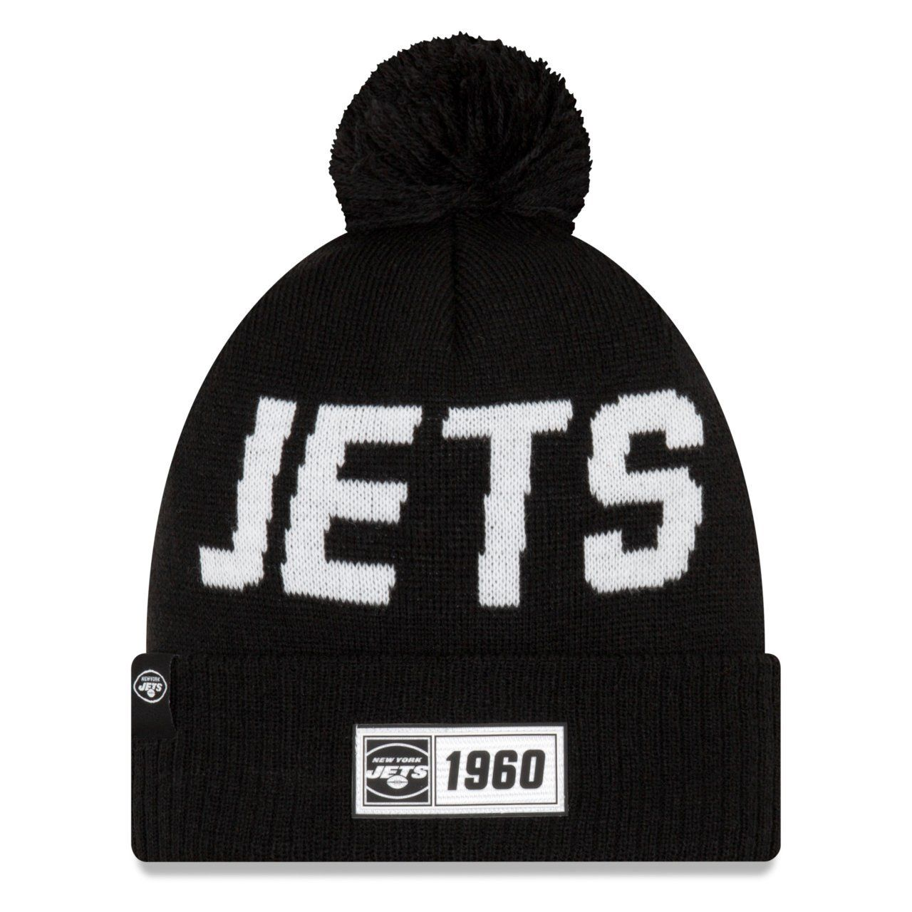 amfoo - New Era Sideline Road 2019 Bommel Mütze New York Jets