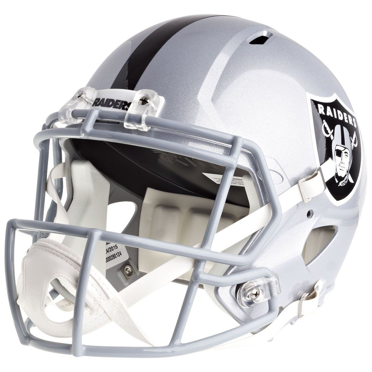 amfoo - Riddell Speed Replica Football Helm - NFL Las Vegas Raiders