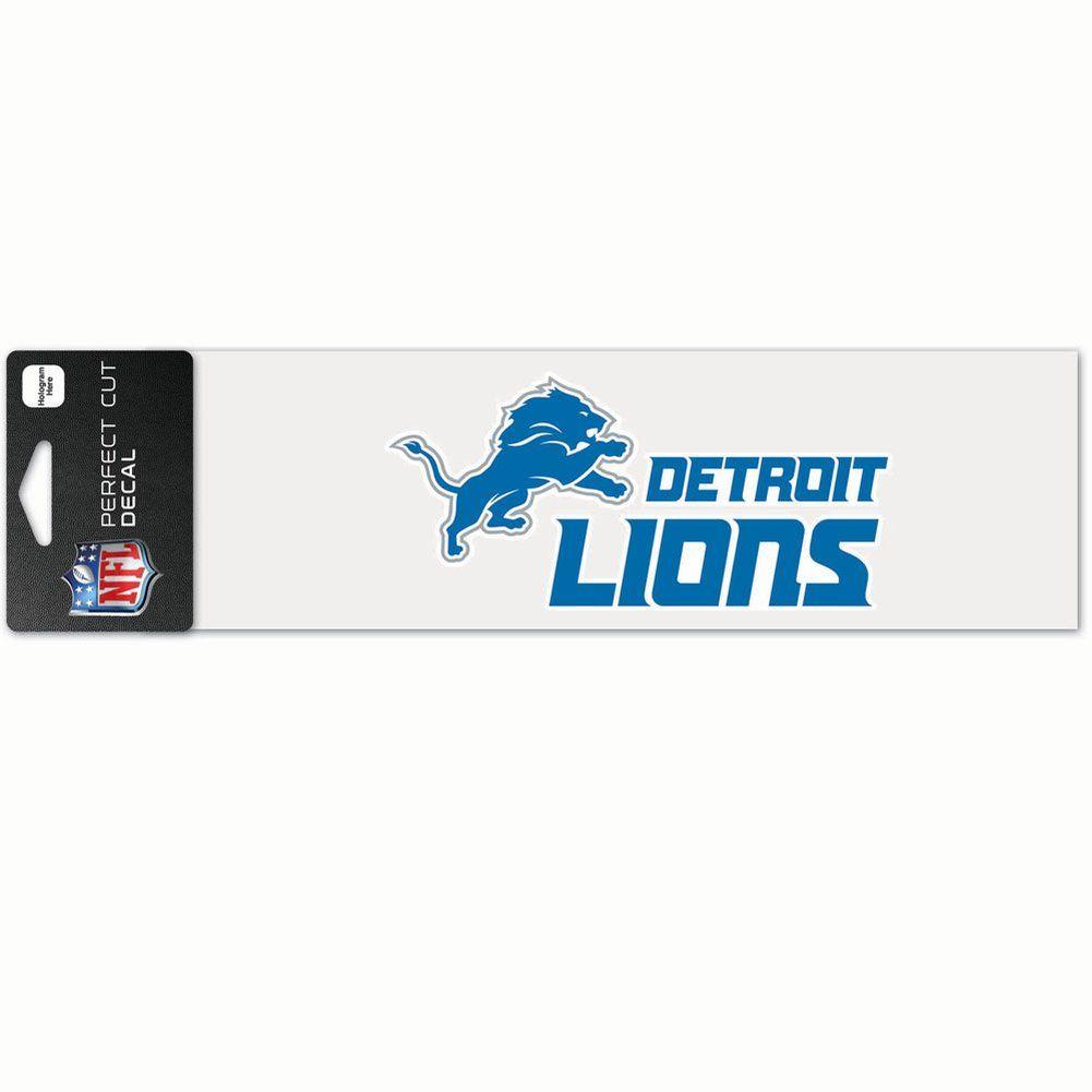 amfoo - Wincraft Aufkleber 8x25cm - NFL Detroit Lions