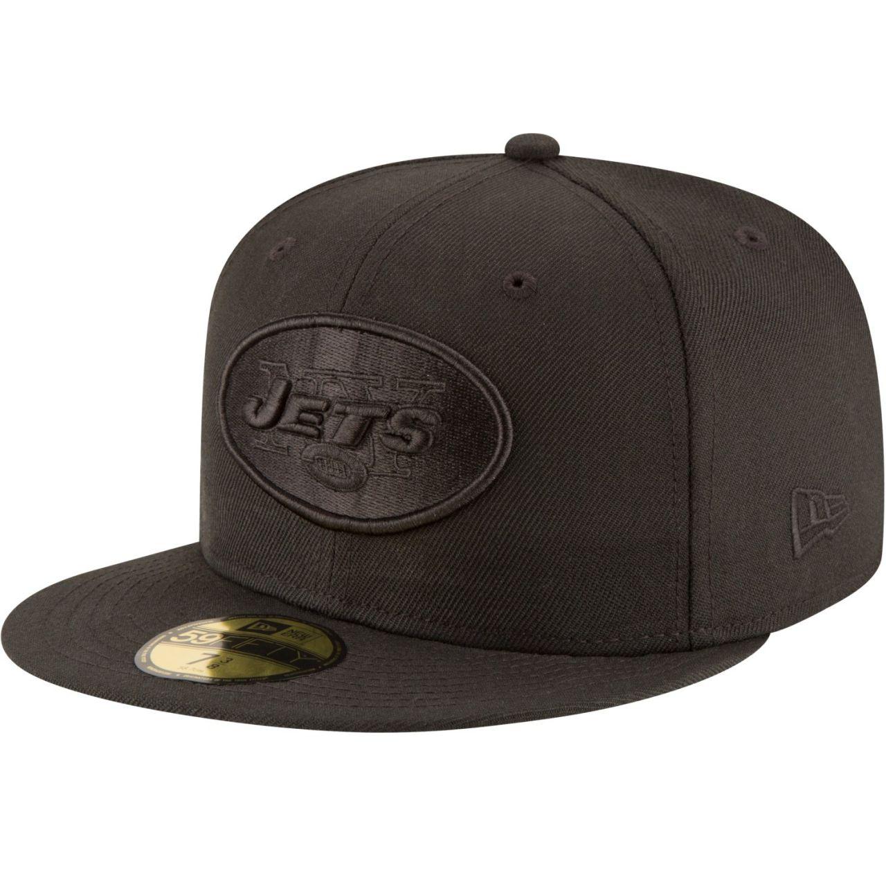 amfoo - New Era 59Fifty Cap - NFL BLACK New York Jets