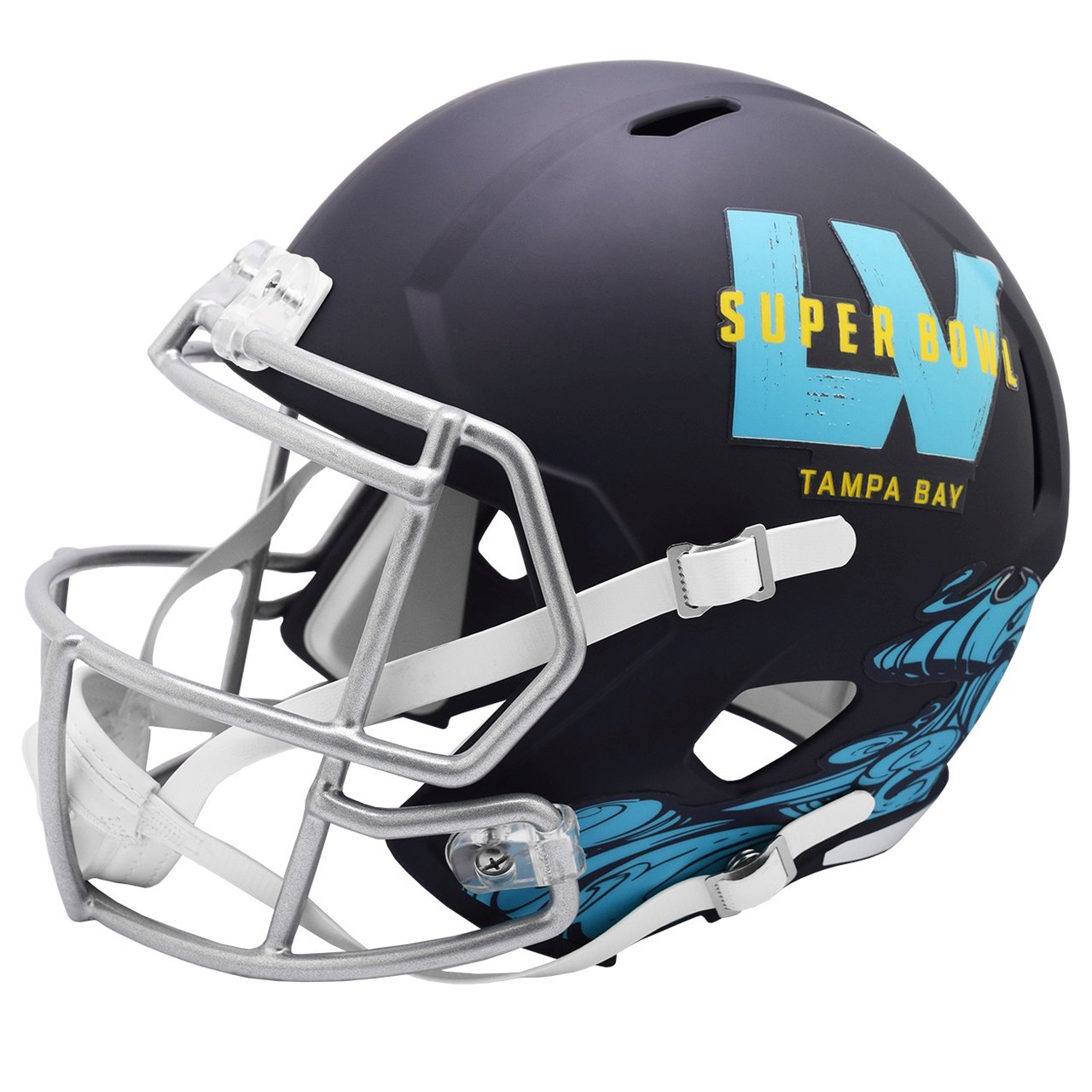 Riddell Speed Replica Football Helm - NFL SUPER BOWL LV