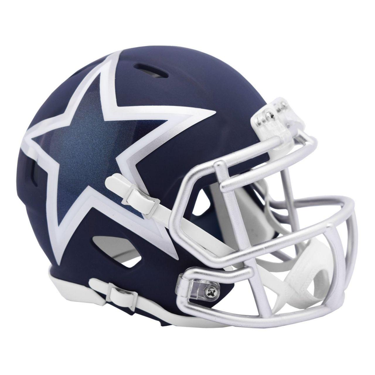 amfoo - Riddell Speed Mini Football Helm - NFL AMP Dallas Cowboys