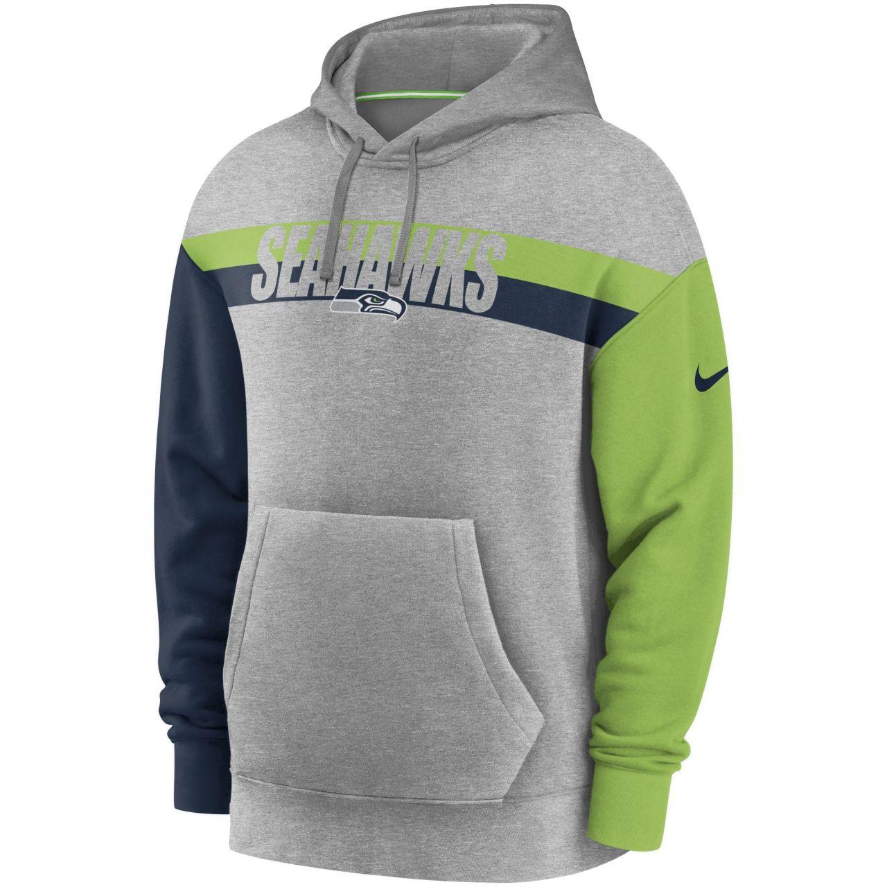 amfoo - Nike NFL Heritage Tri-Blend Hoody - Seattle Seahawks