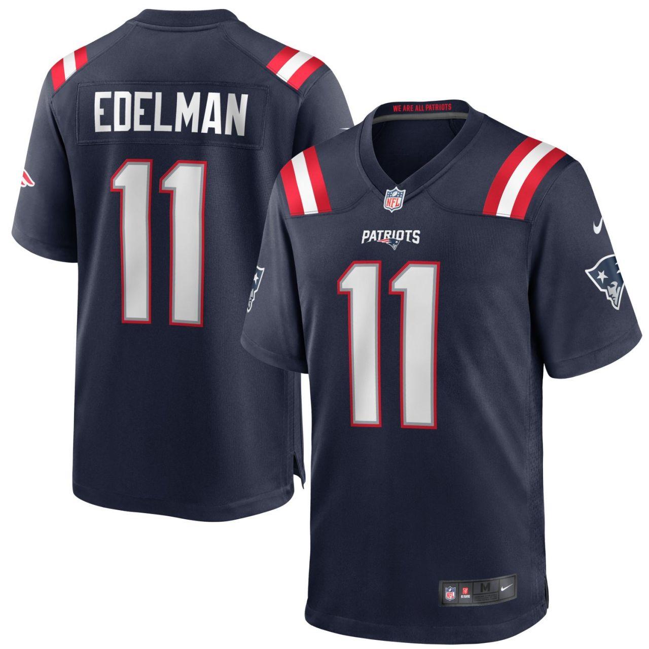 amfoo - Nike GAME Jersey New England Patriots #11 Julian Edelman