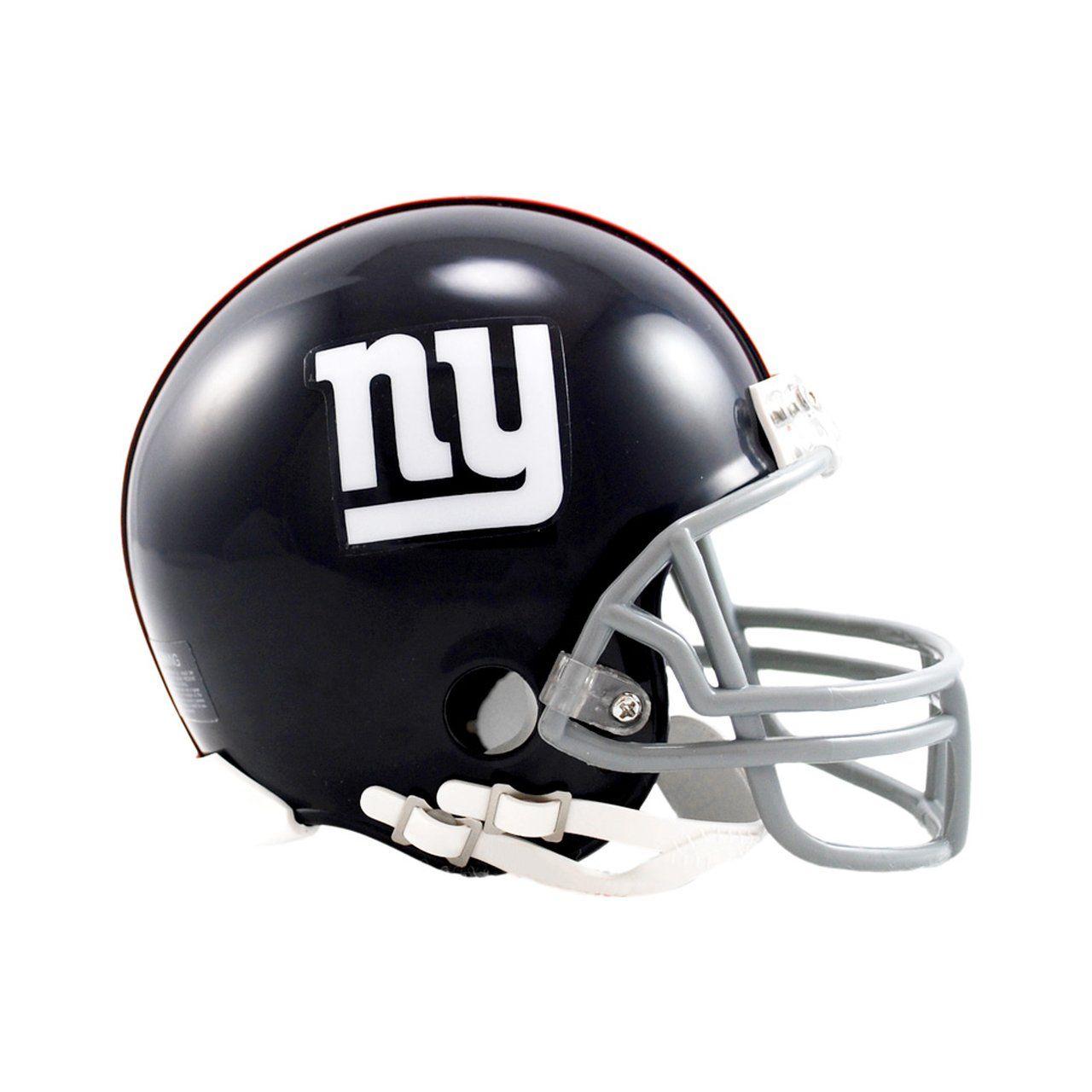 amfoo - Riddell VSR4 Mini Football Helm - New York Giants 1961-74