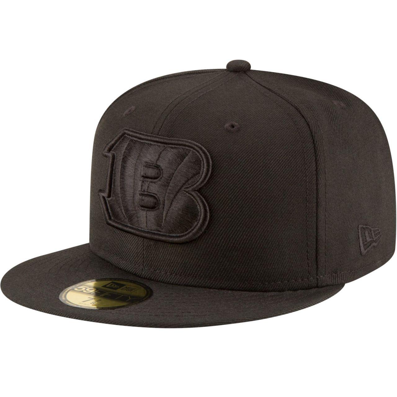 amfoo - New Era 59Fifty Cap - NFL BLACK Cincinnati Bengals