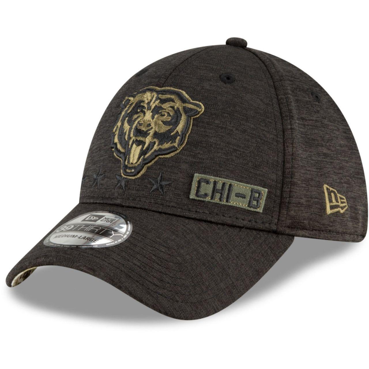 amfoo - New Era 39Thirty Cap Salute to Service Chicago Bears