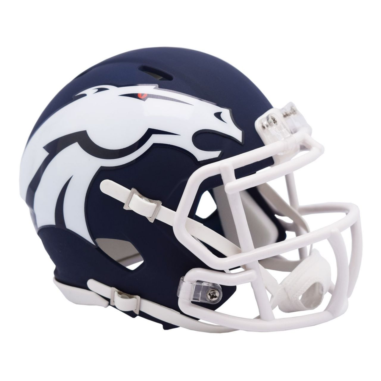 amfoo - Riddell Speed Mini Football Helm - NFL AMP Denver Broncos