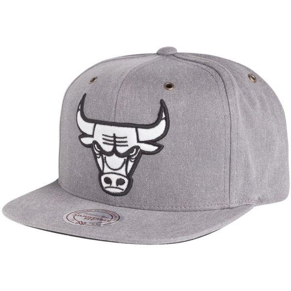 Mitchell & Ness Strapback Cap - NBA Chicago Bulls grau