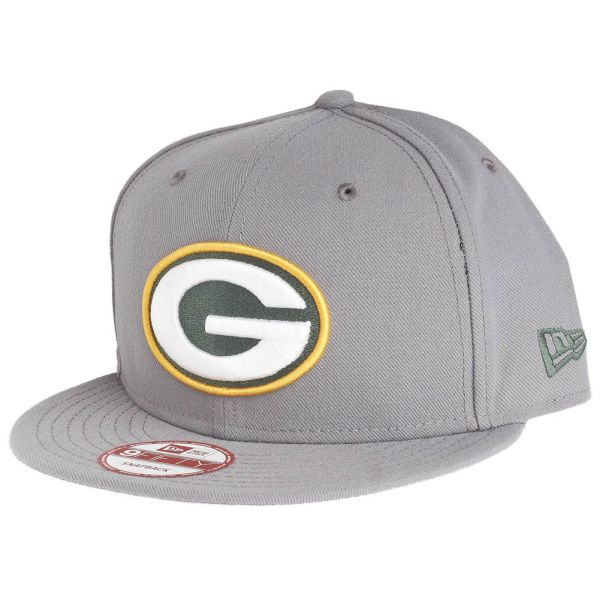 New Era 9Fifty Snapback Cap - Green Bay Packers storm grau