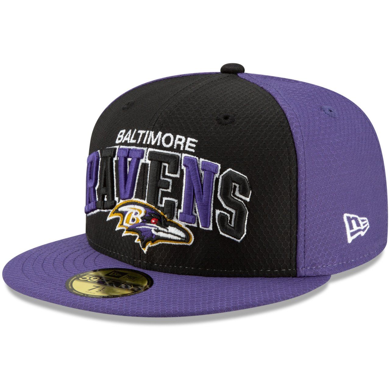 amfoo - New Era 59Fifty Cap - Sideline 90s Home Baltimore Ravens