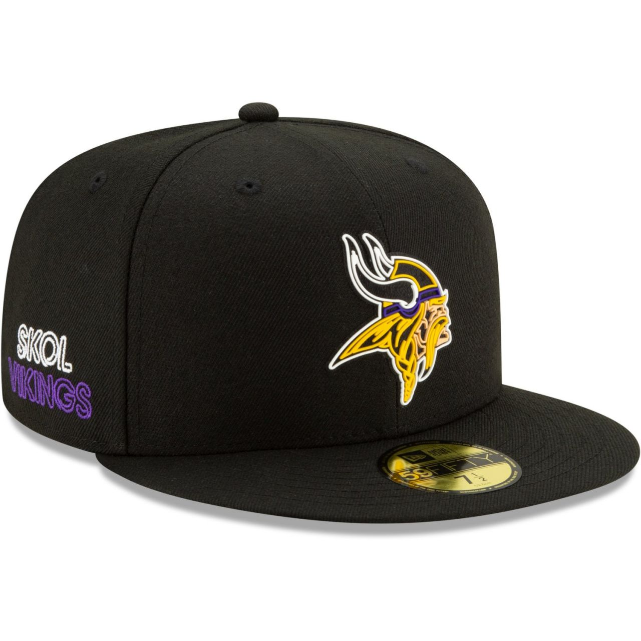 amfoo - New Era 59Fifty Cap - NFL 2020 DRAFT Minnesota Vikings