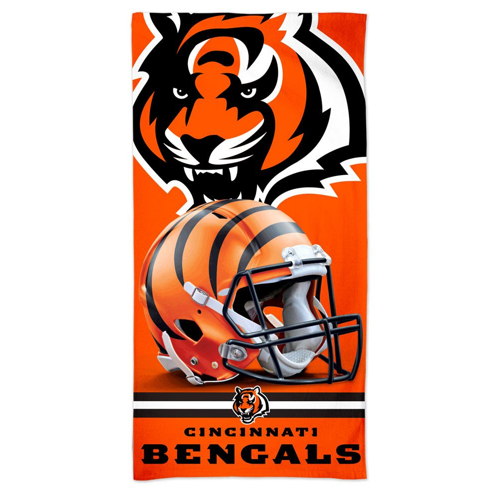 amfoo - Wincraft NFL Cincinnati Bengals 3D Strandtuch 150x75cm