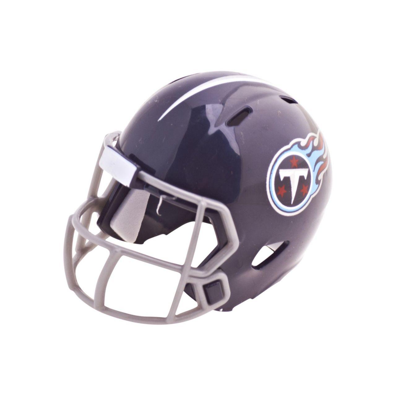 amfoo - Riddell Speed Pocket Football Helm - NFL Tennessee Titans