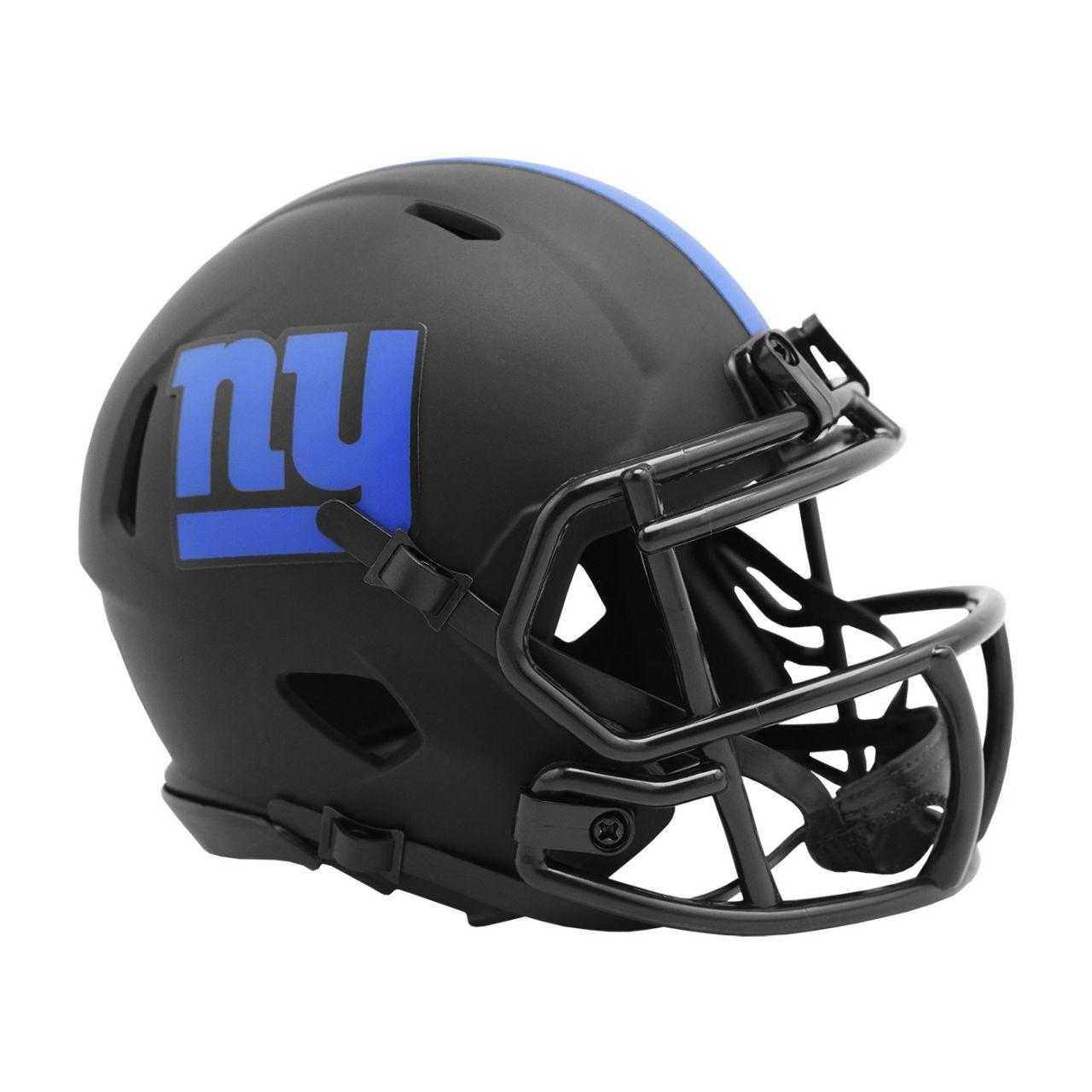 amfoo - Riddell Speed Mini Football Helm - ECLIPSE New York Giants